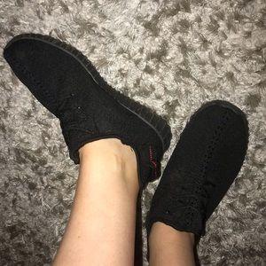 Shoes - BLACK TENNIS SHOES